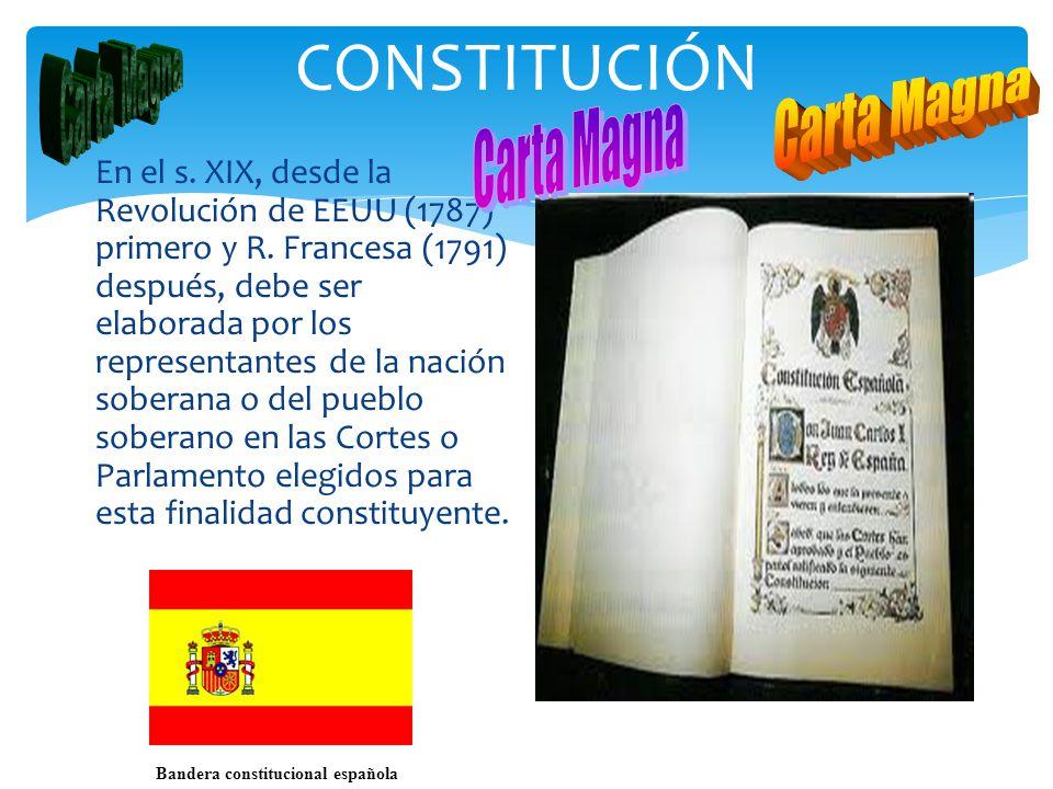 Bandera constitucional española