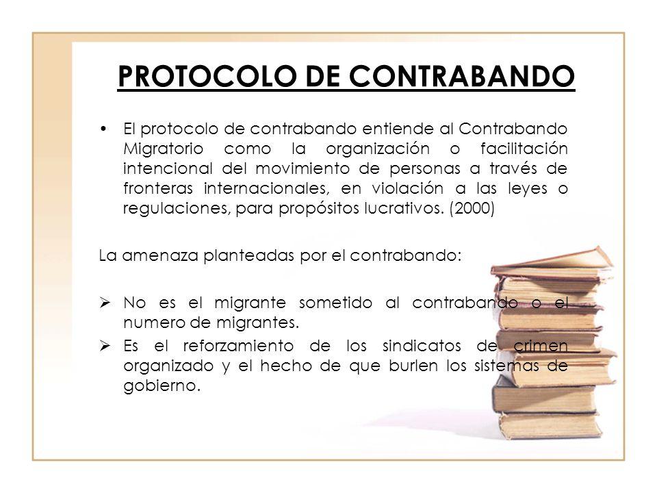 PROTOCOLO DE CONTRABANDO