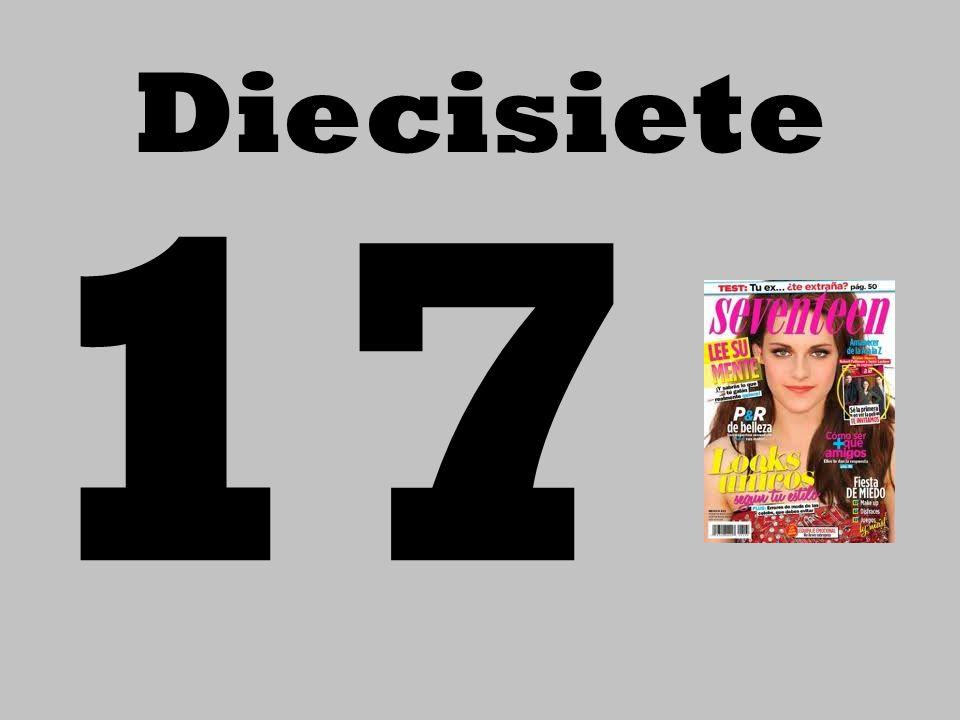 Diecisiete 17