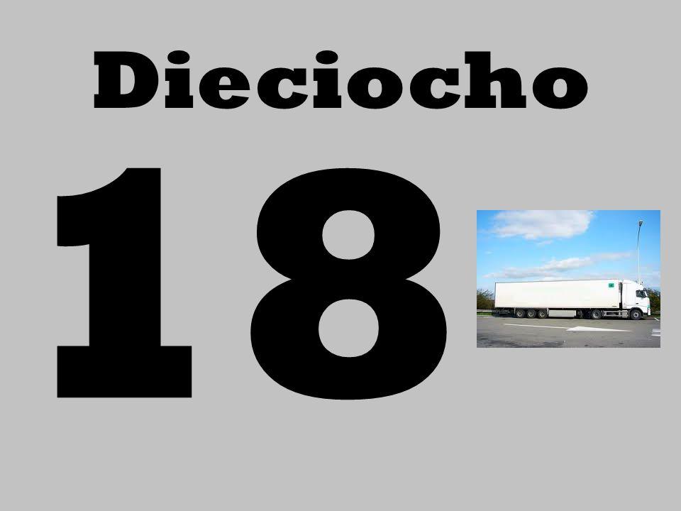 Dieciocho 18
