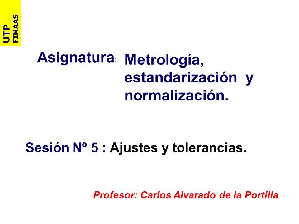 Metrología, estandarización y normalización.