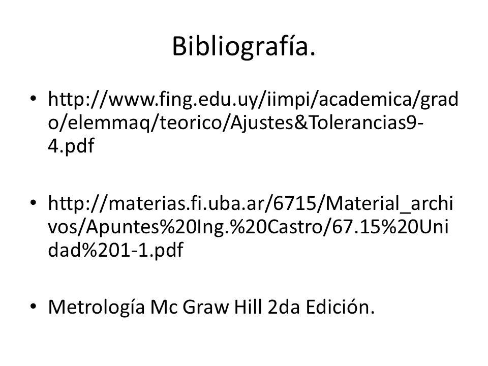 Bibliografía. http://www.fing.edu.uy/iimpi/academica/grado/elemmaq/teorico/Ajustes&Tolerancias9-4.pdf.