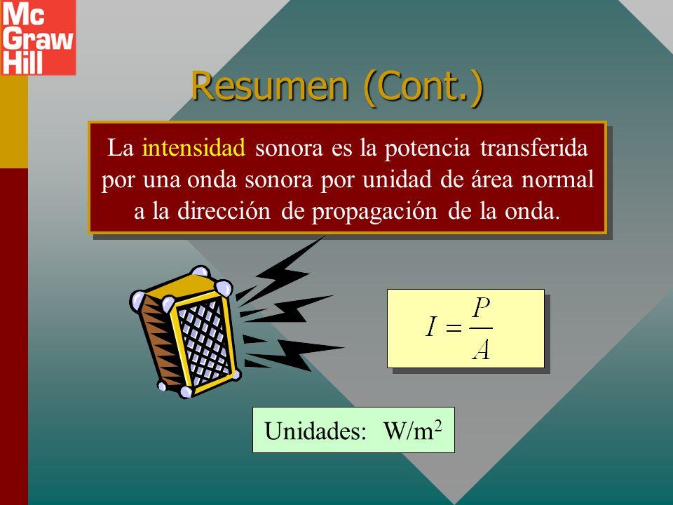 Resumen (Cont.)
