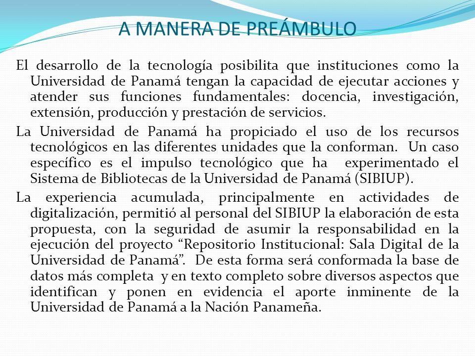 A MANERA DE PREÁMBULO