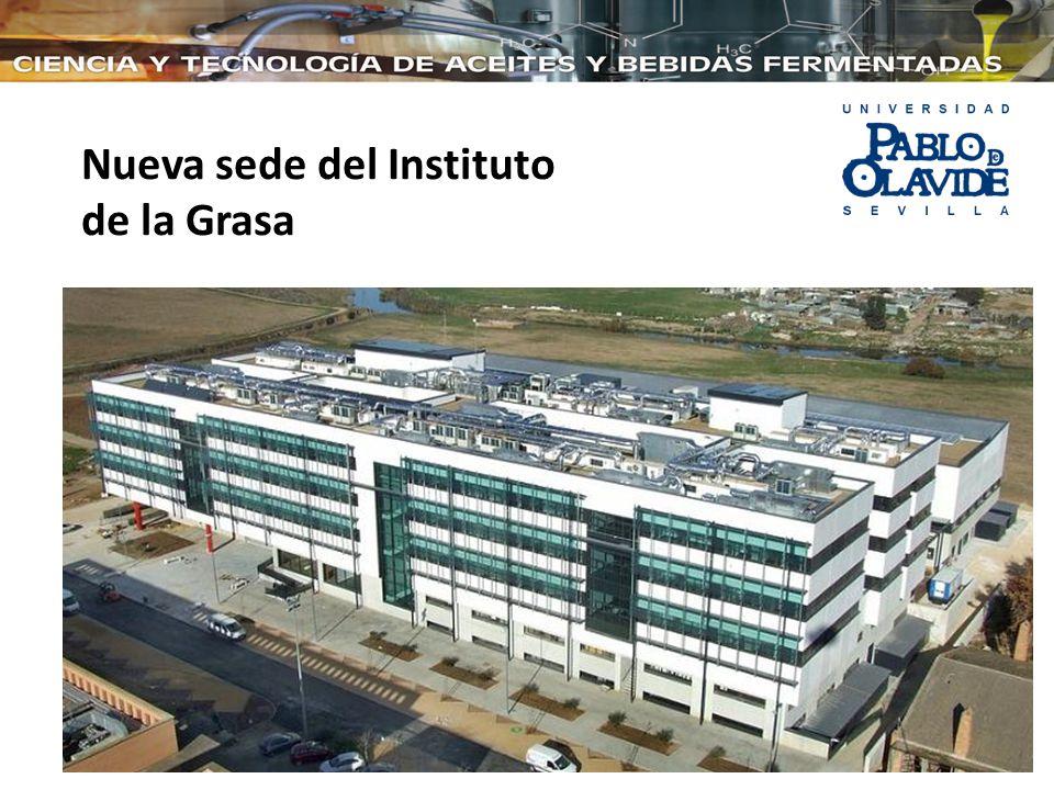 Nueva sede del Instituto de la Grasa