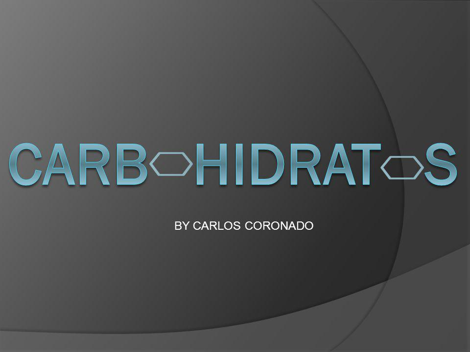 CARB HIDRAT S BY CARLOS CORONADO