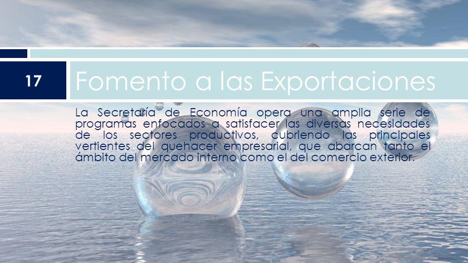 Fomento a las Exportaciones