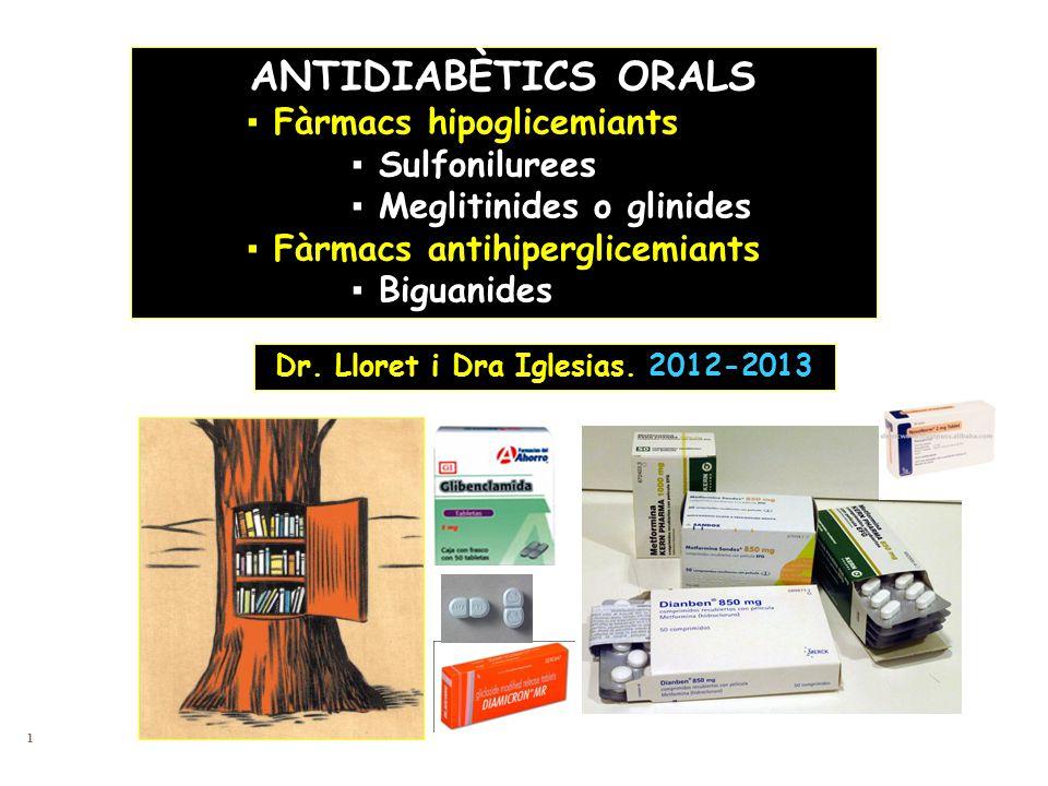Dr. Lloret i Dra Iglesias. 2012-2013