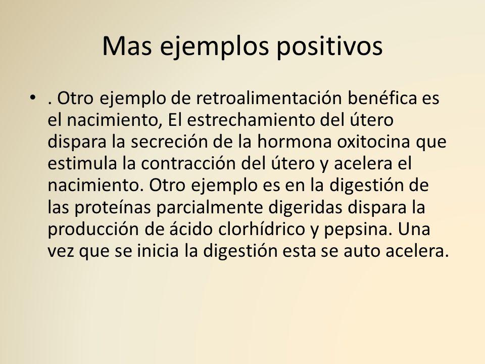 Mas ejemplos positivos
