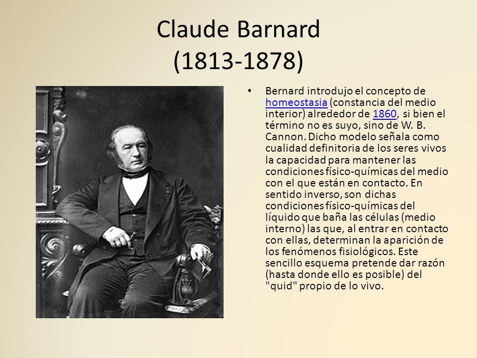 Claude Barnard (1813-1878)