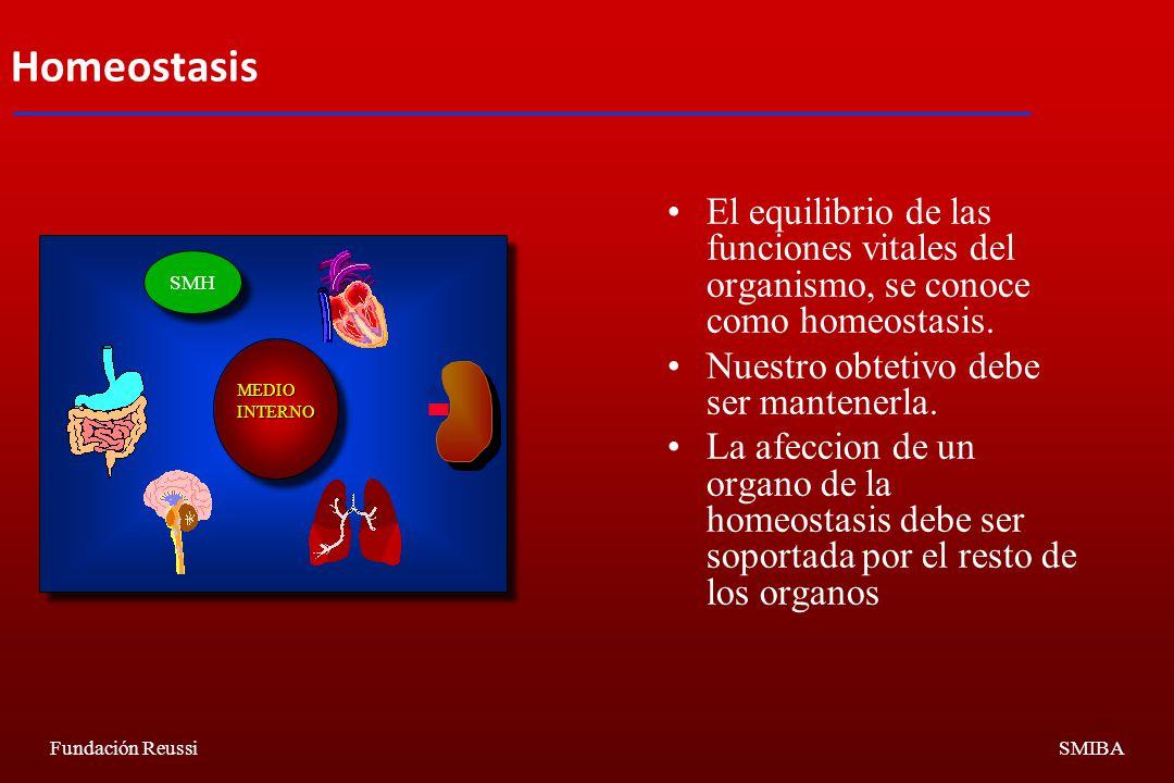 Homeostasis El equilibrio de las funciones vitales del organismo, se conoce como homeostasis. Nuestro obtetivo debe ser mantenerla.