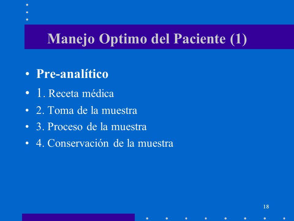 Manejo Optimo del Paciente (1)