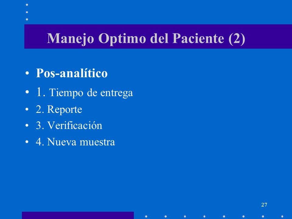 Manejo Optimo del Paciente (2)