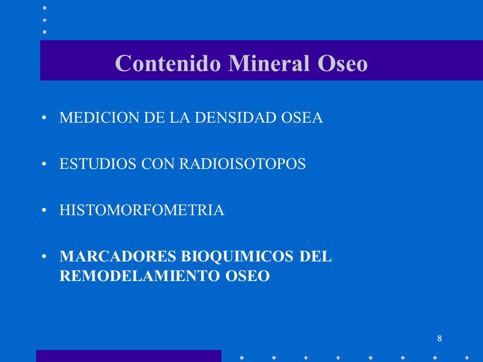 Contenido Mineral Oseo