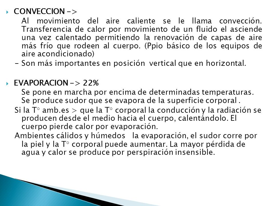 CONVECCION ->