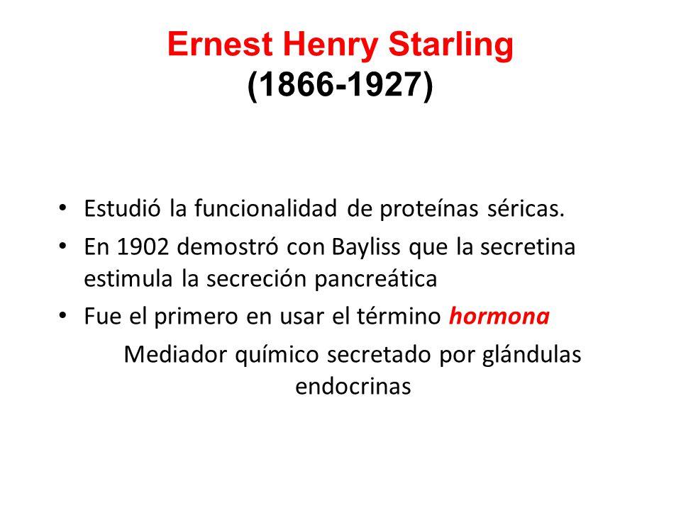 Ernest Henry Starling (1866-1927)