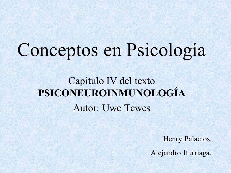 Conceptos en Psicología