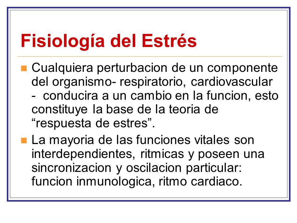 Fisiología del Estrés