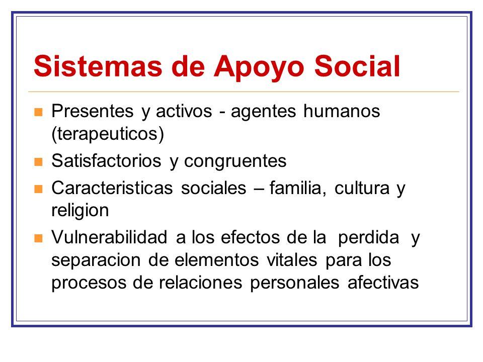 Sistemas de Apoyo Social