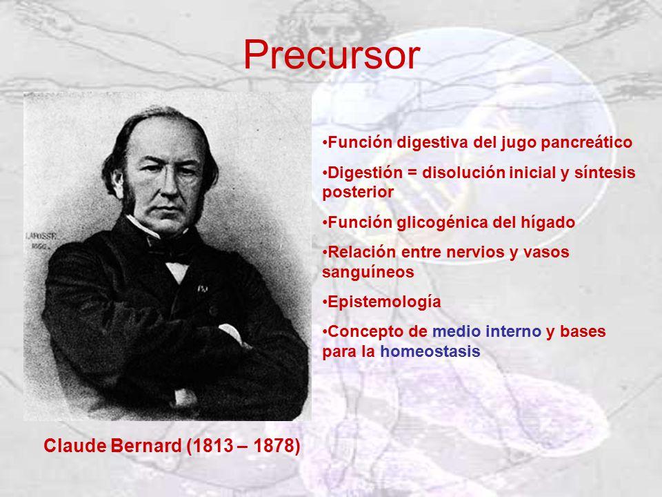 Precursor Claude Bernard (1813 – 1878)