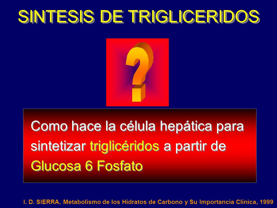 SINTESIS DE TRIGLICERIDOS