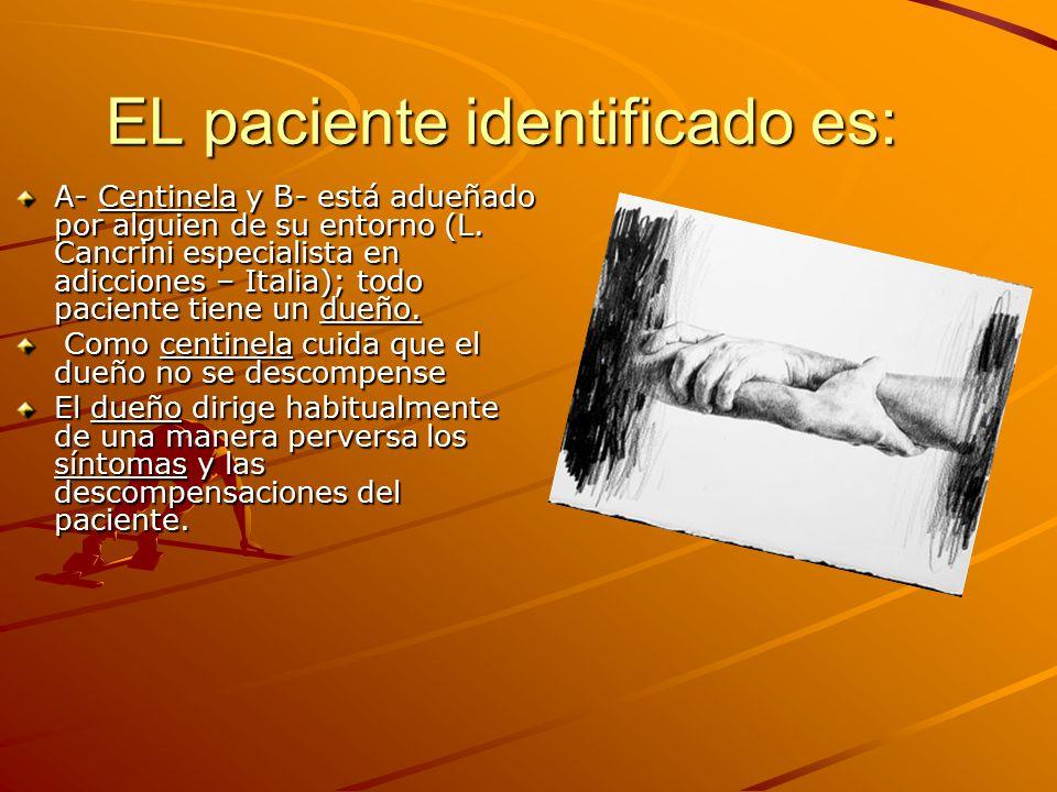 EL paciente identificado es: