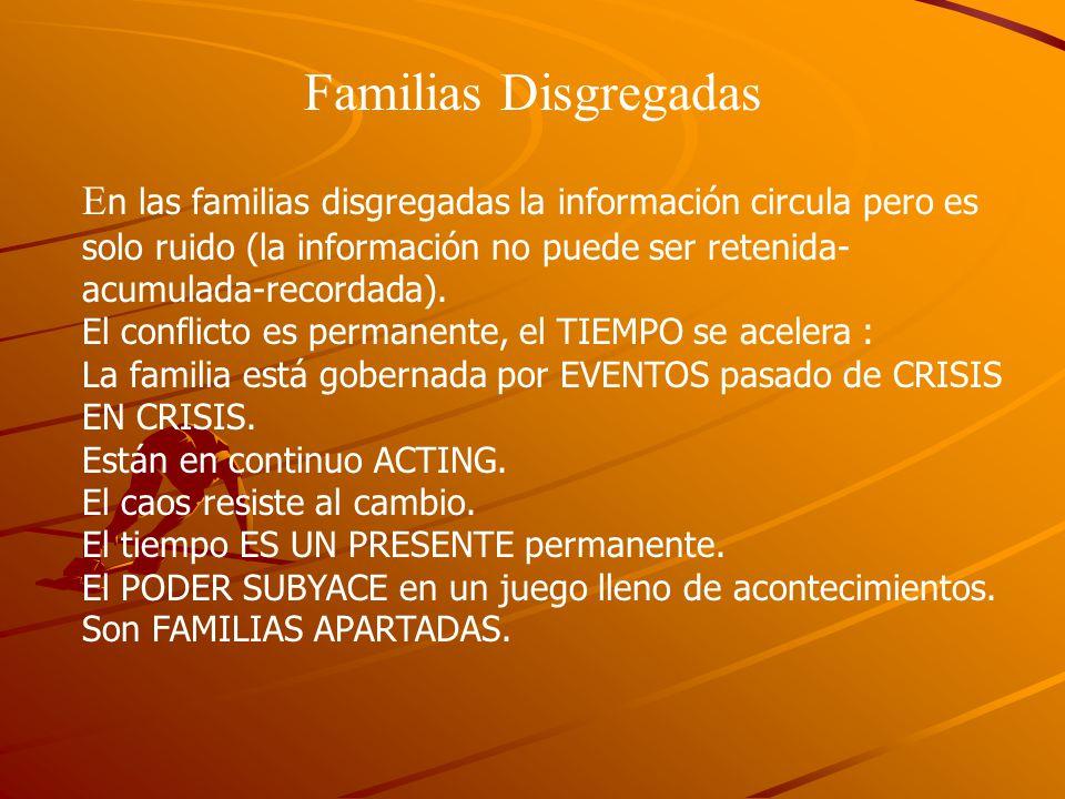 Familias Disgregadas