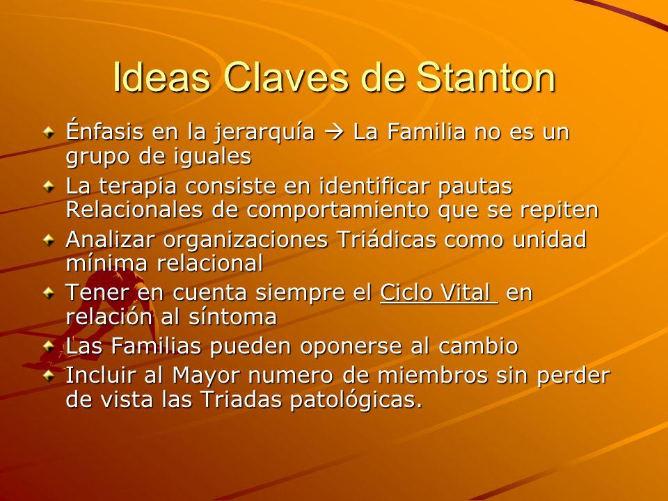 Ideas Claves de Stanton