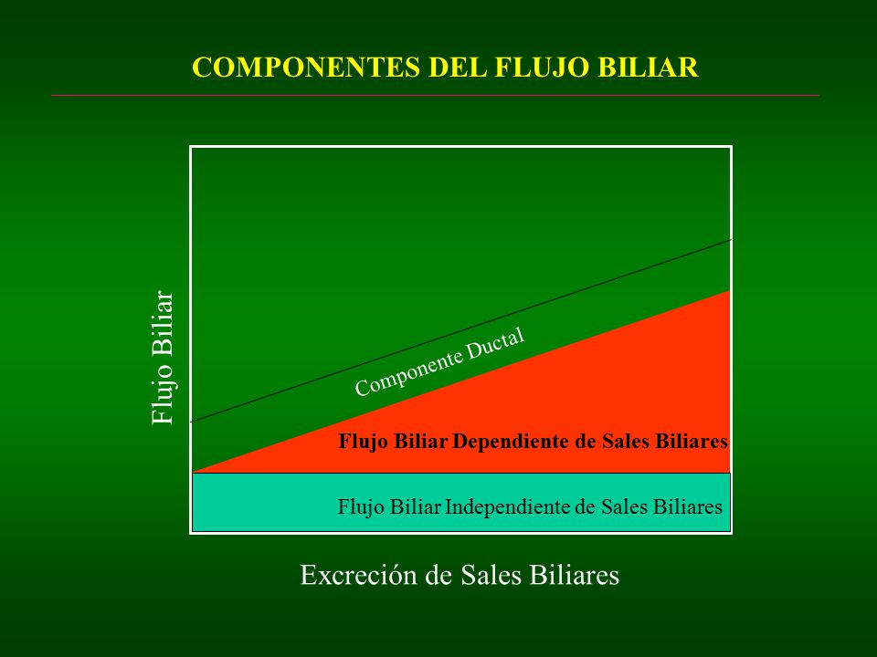 COMPONENTES DEL FLUJO BILIAR