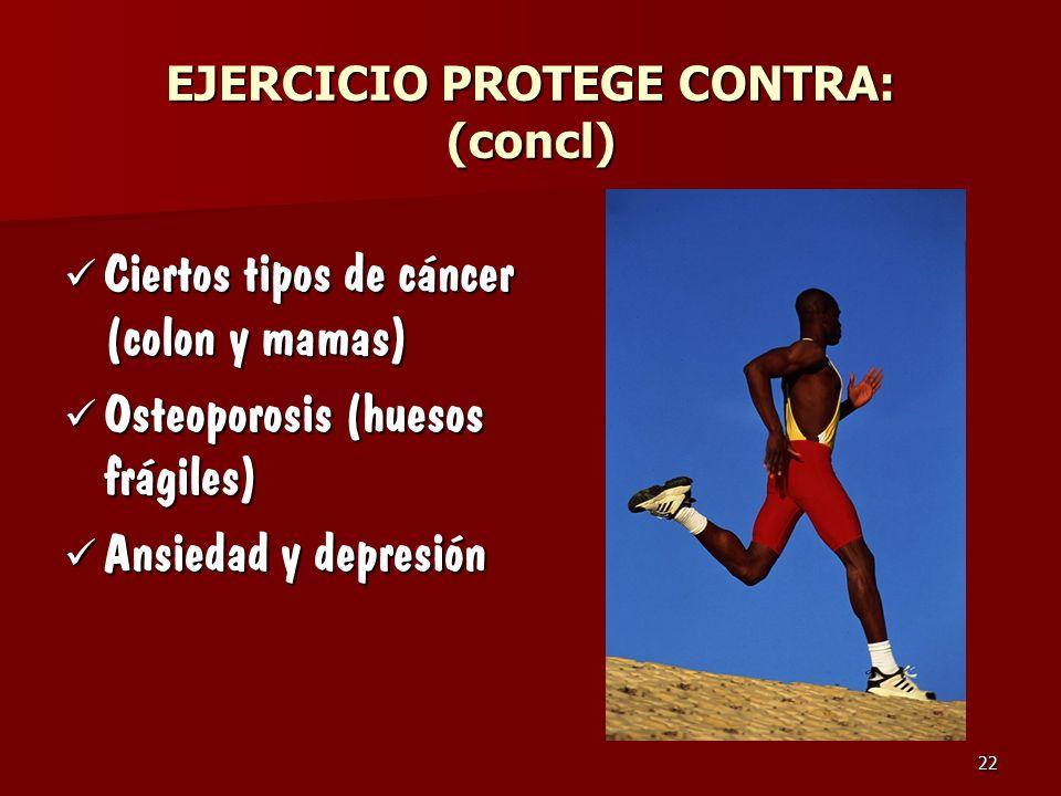 EJERCICIO PROTEGE CONTRA: (concl)