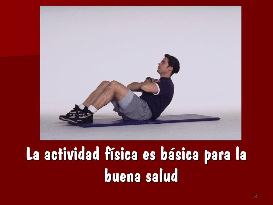 La actividad física es básica para la buena salud