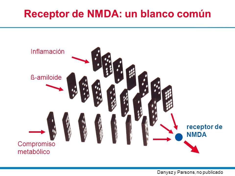 Receptor de NMDA: un blanco común