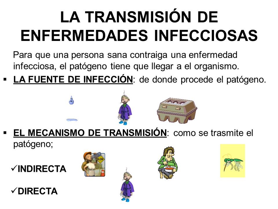 LA TRANSMISIÓN DE ENFERMEDADES INFECCIOSAS