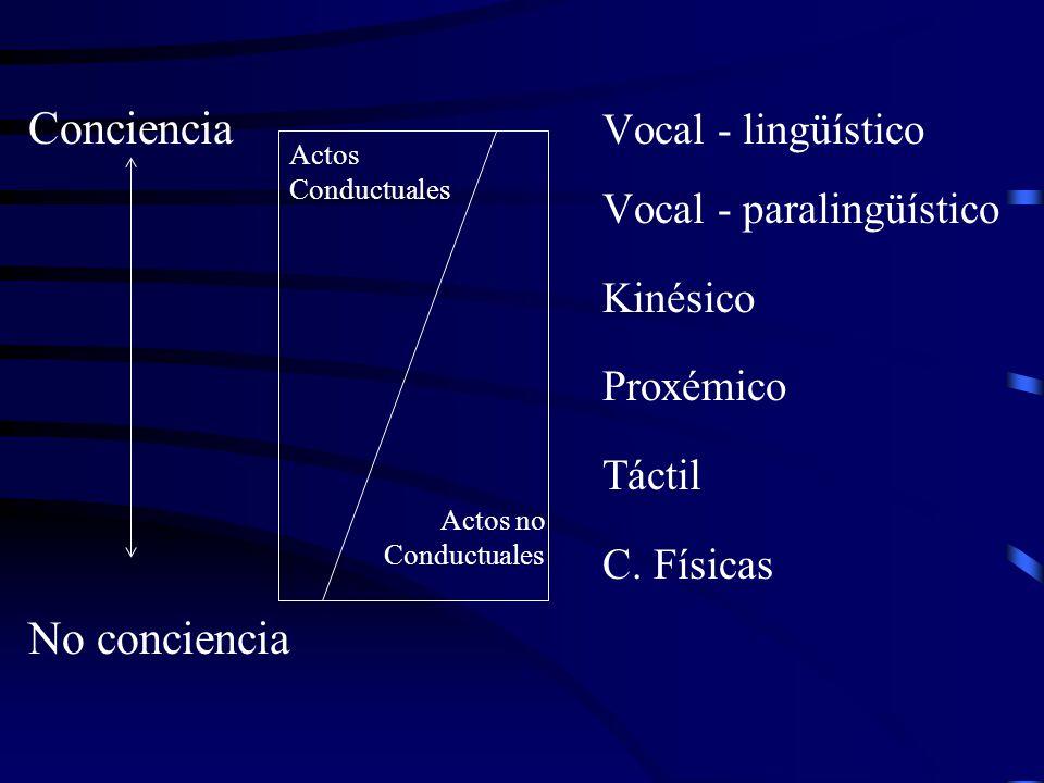 Conciencia Vocal - lingüístico