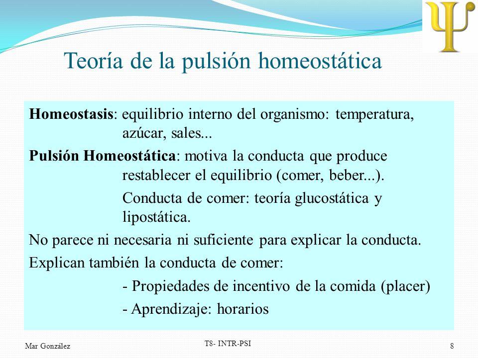 Teoría de la pulsión homeostática