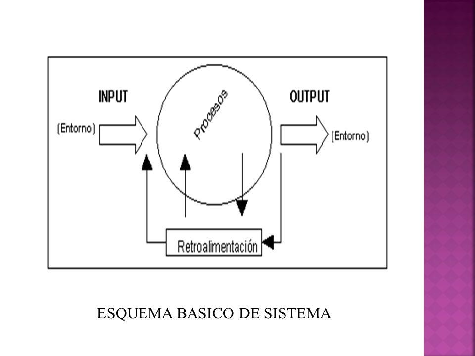 ESQUEMA BASICO DE SISTEMA