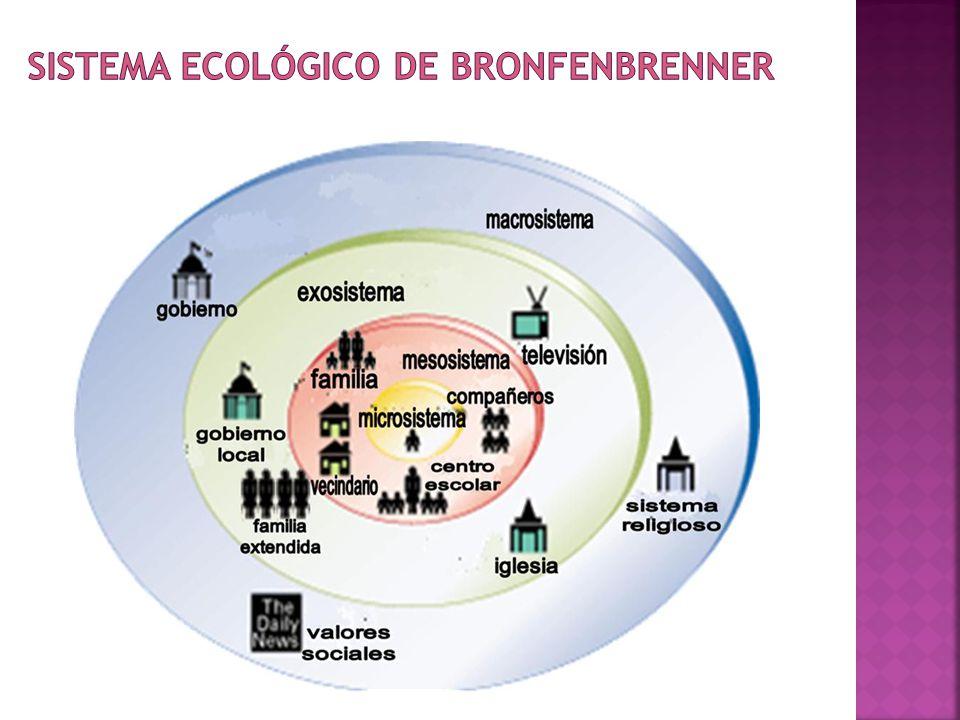 Sistema Ecológico de Bronfenbrenner