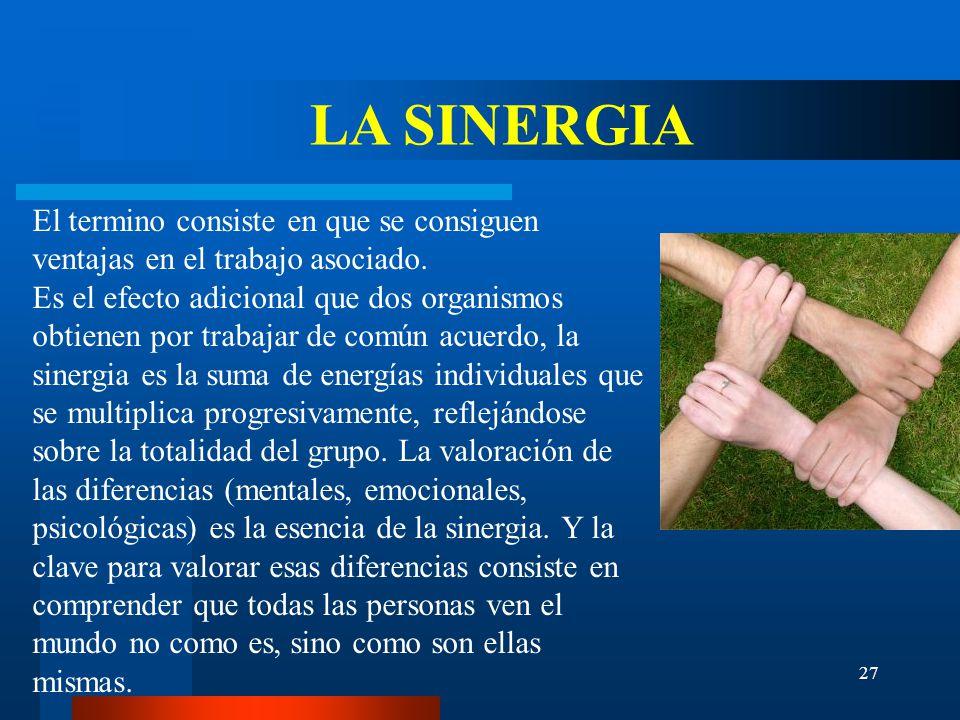 LA SINERGIA