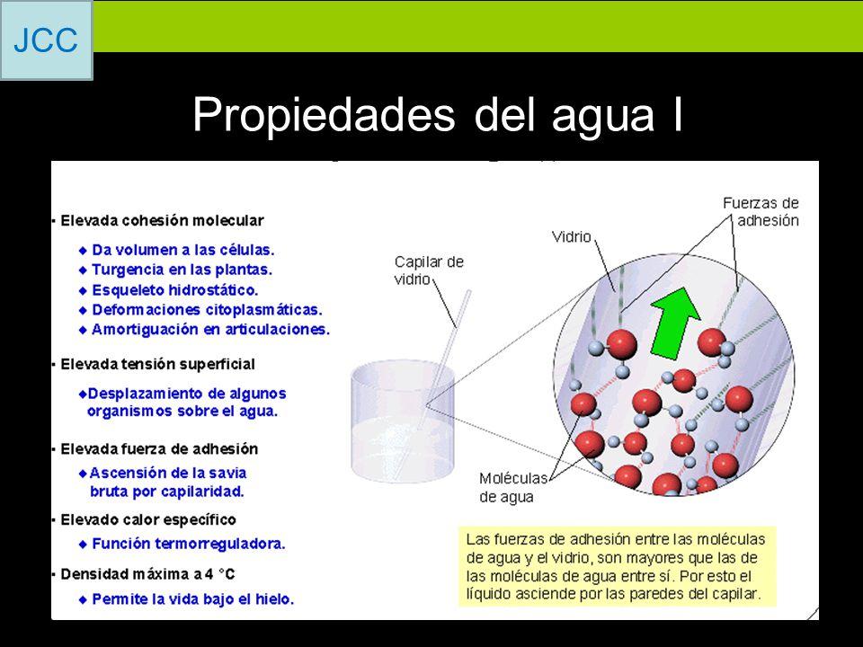 Propiedades del agua I