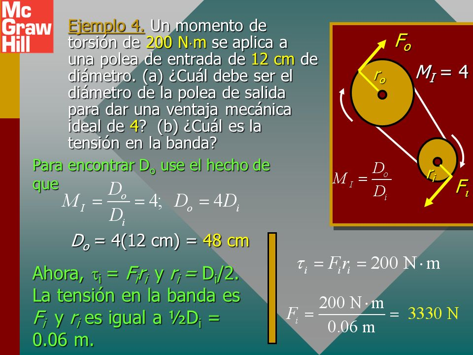 MI = 4 Fo. Fi. ri. ro.