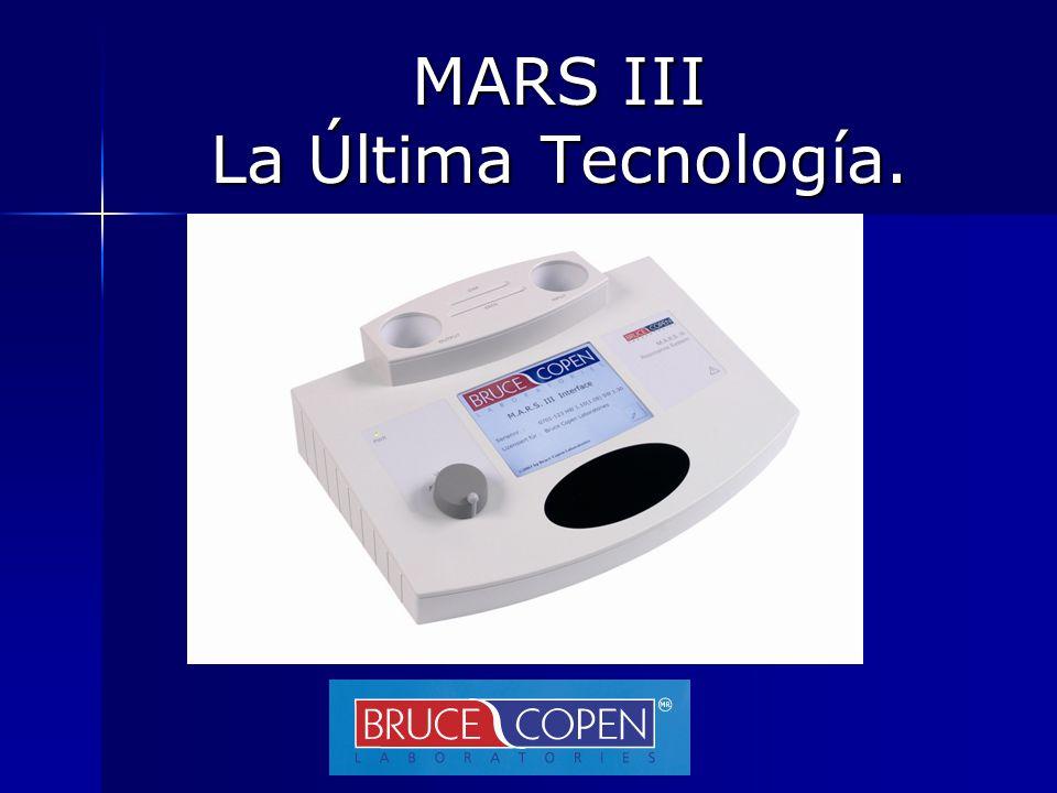 MARS III La Última Tecnología.