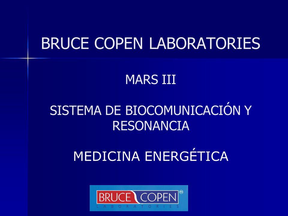 BRUCE COPEN LABORATORIES MARS III SISTEMA DE BIOCOMUNICACIÓN Y RESONANCIA MEDICINA ENERGÉTICA