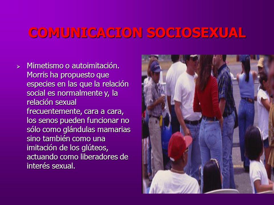 COMUNICACION SOCIOSEXUAL