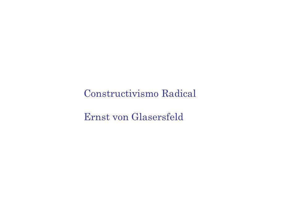 Constructivismo Radical