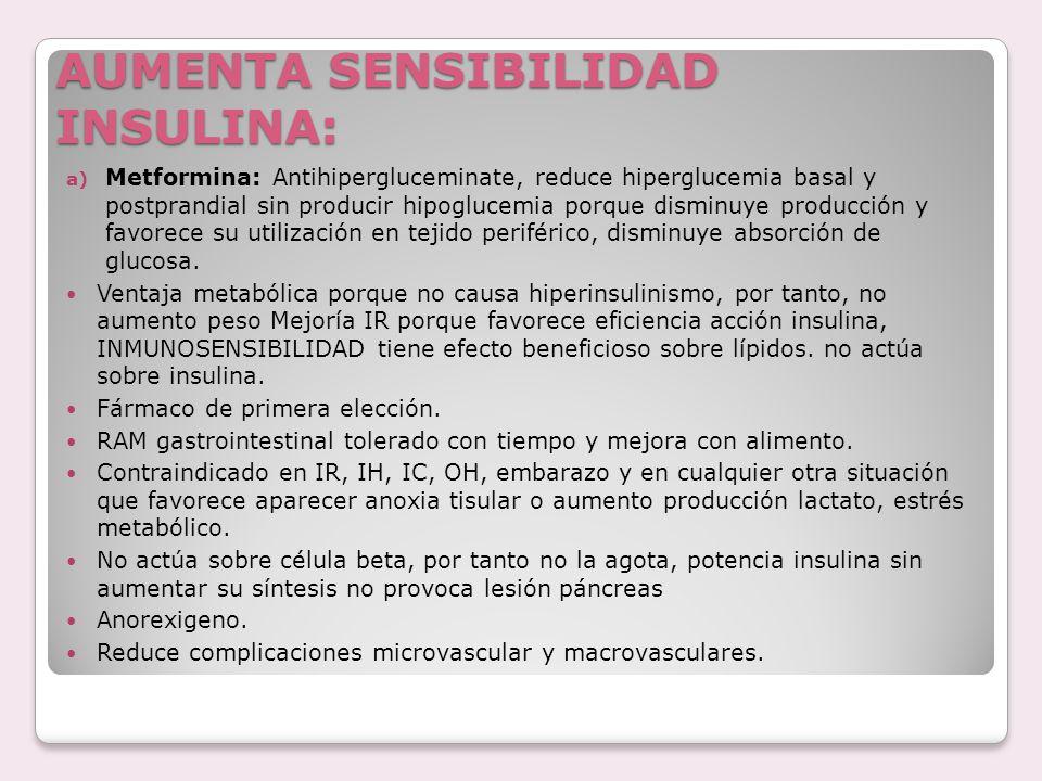 AUMENTA SENSIBILIDAD INSULINA:
