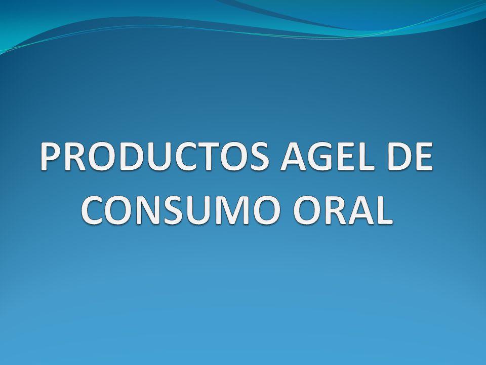 PRODUCTOS AGEL DE CONSUMO ORAL