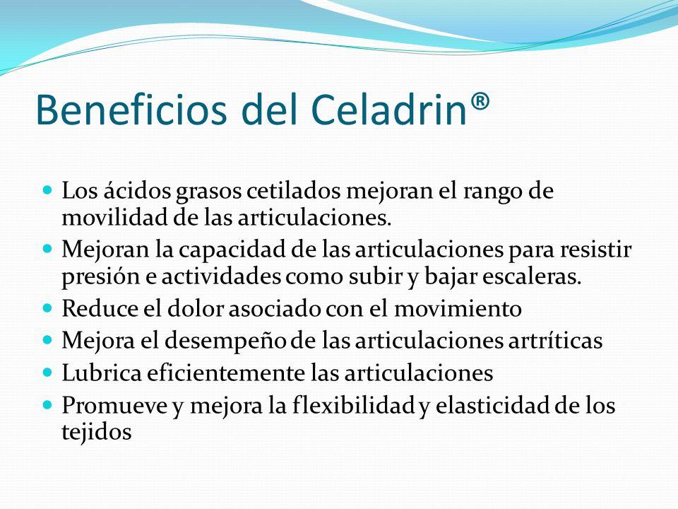 Beneficios del Celadrin®