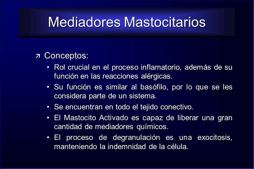 Mediadores Mastocitarios
