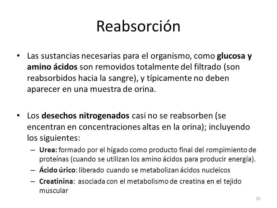 Reabsorción