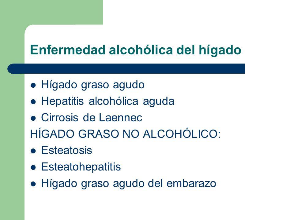 Enfermedad alcohólica del hígado